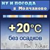 Ну и погода в Молчаново - Поминутный прогноз погоды